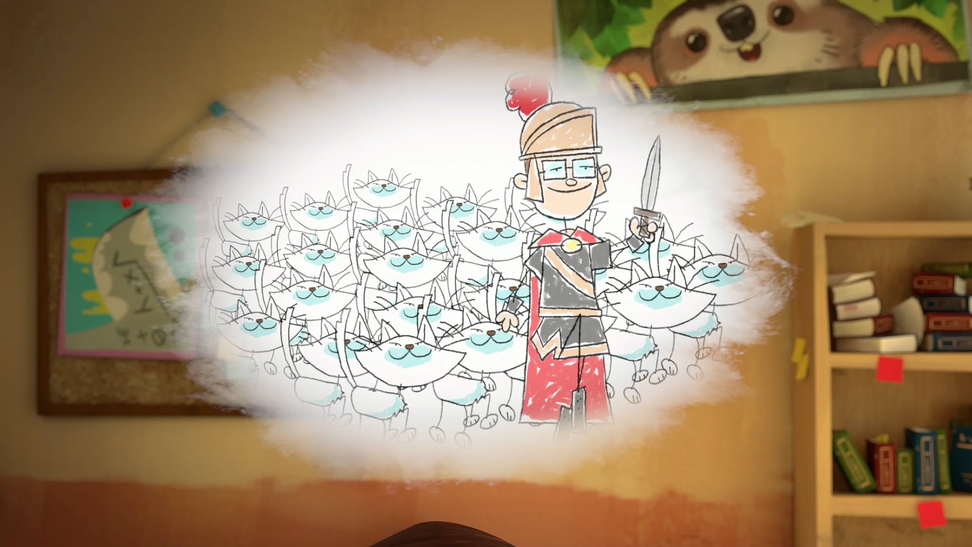 Walter and his cat army
