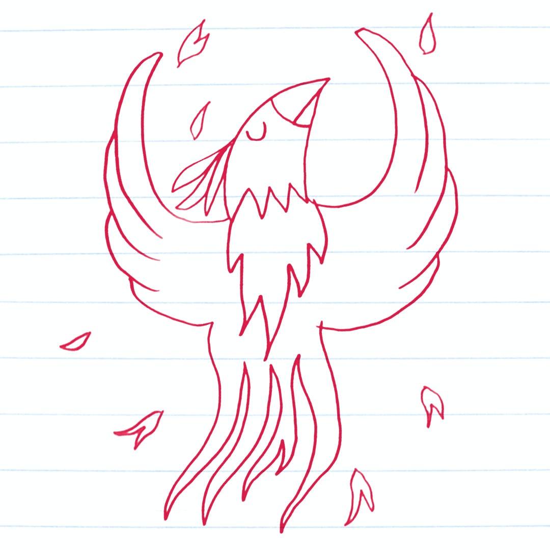 Phoenix drawing