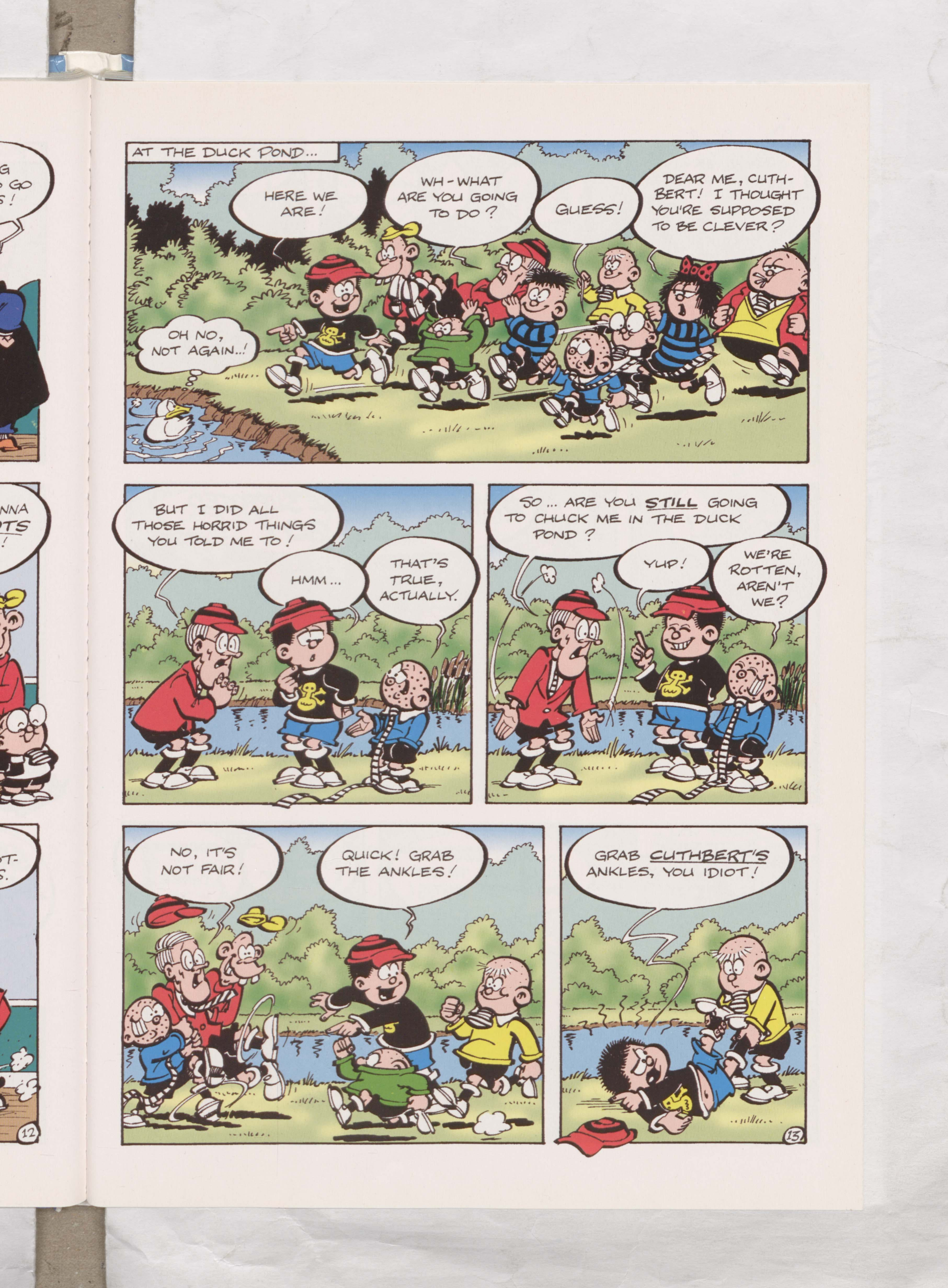Bash Street Kids - Teacher's Pest - Illustrated by Mike Pearse Beano Book 2004 Annual