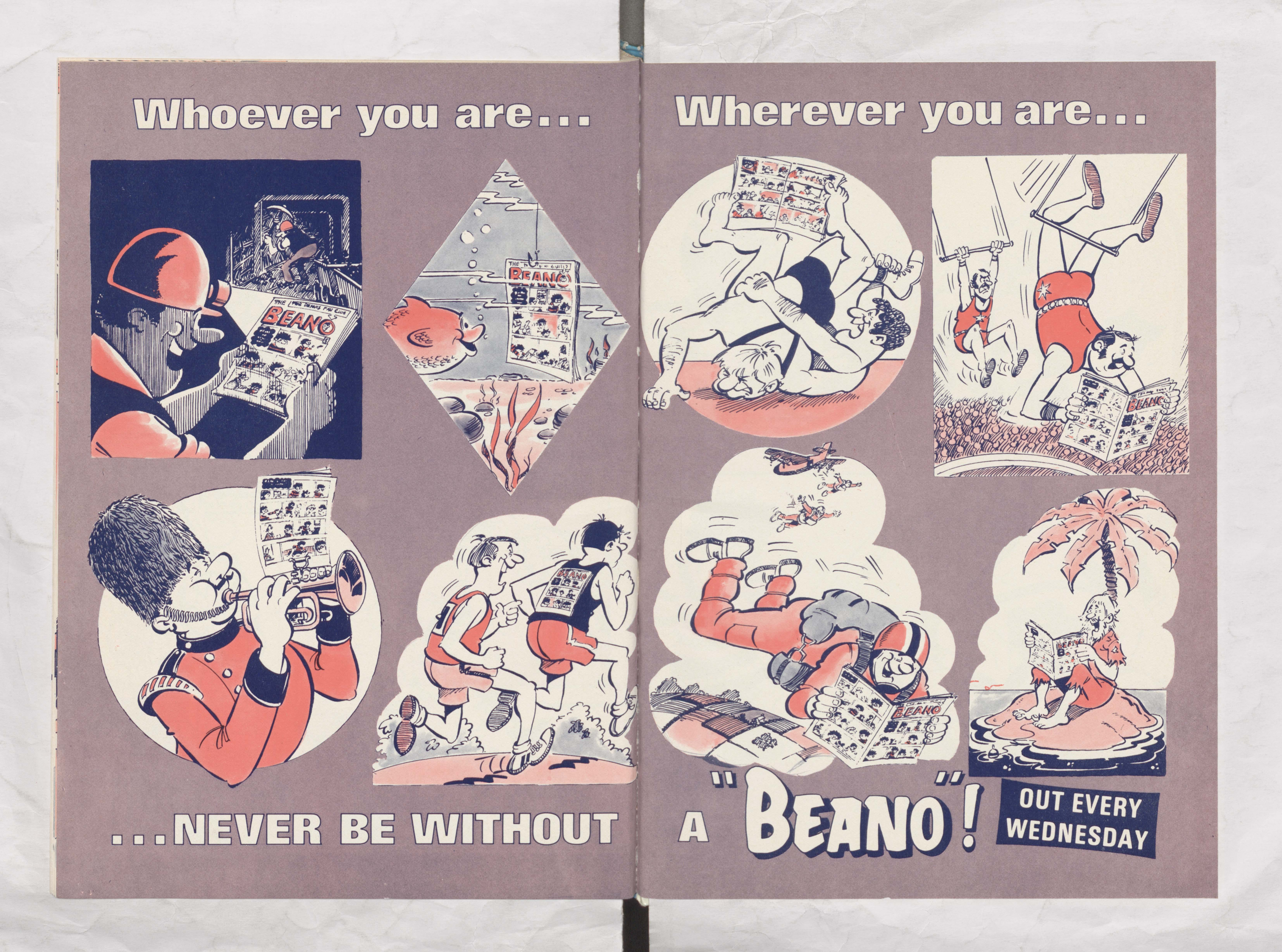 Never be without a Beano - Beano Book 1984 Annual