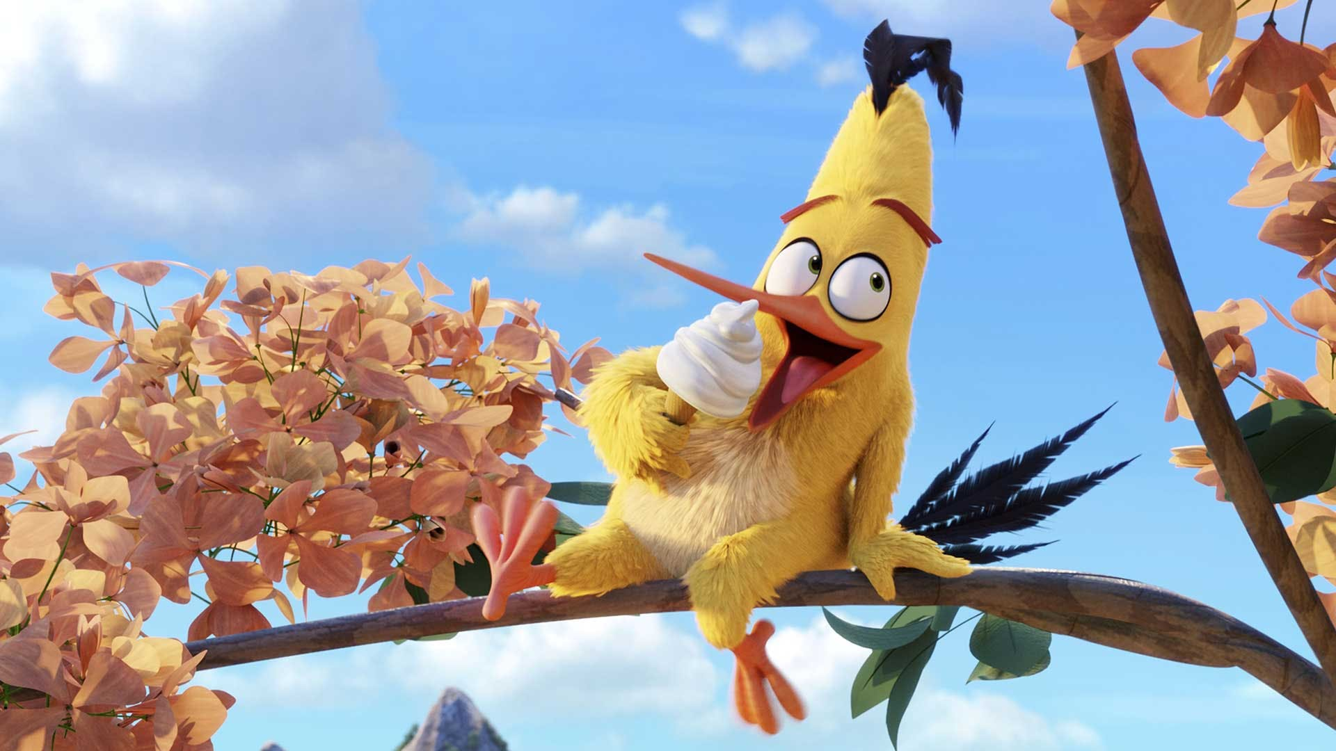 Chuck from Angry Birds