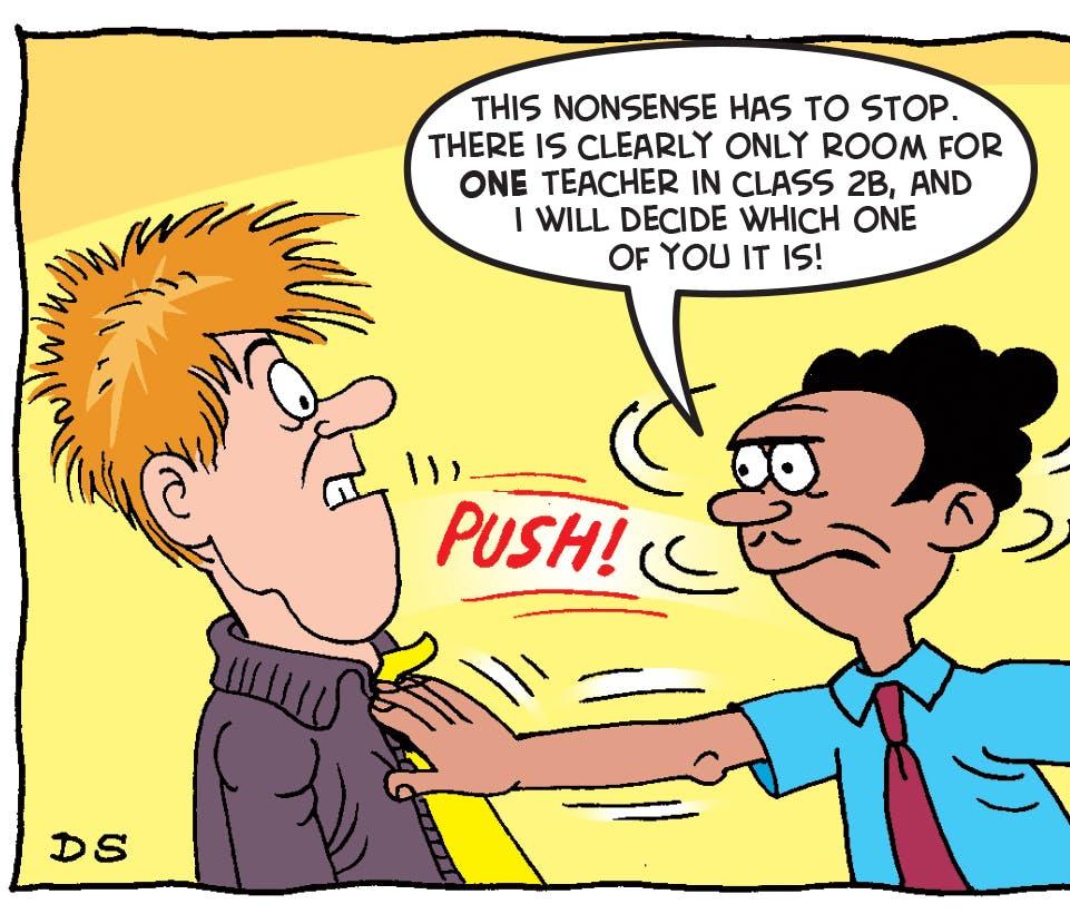 New Teacher On The Block - The Bash Street Kids