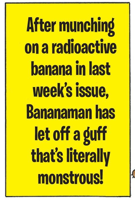 Bananaman versus Guffzilla