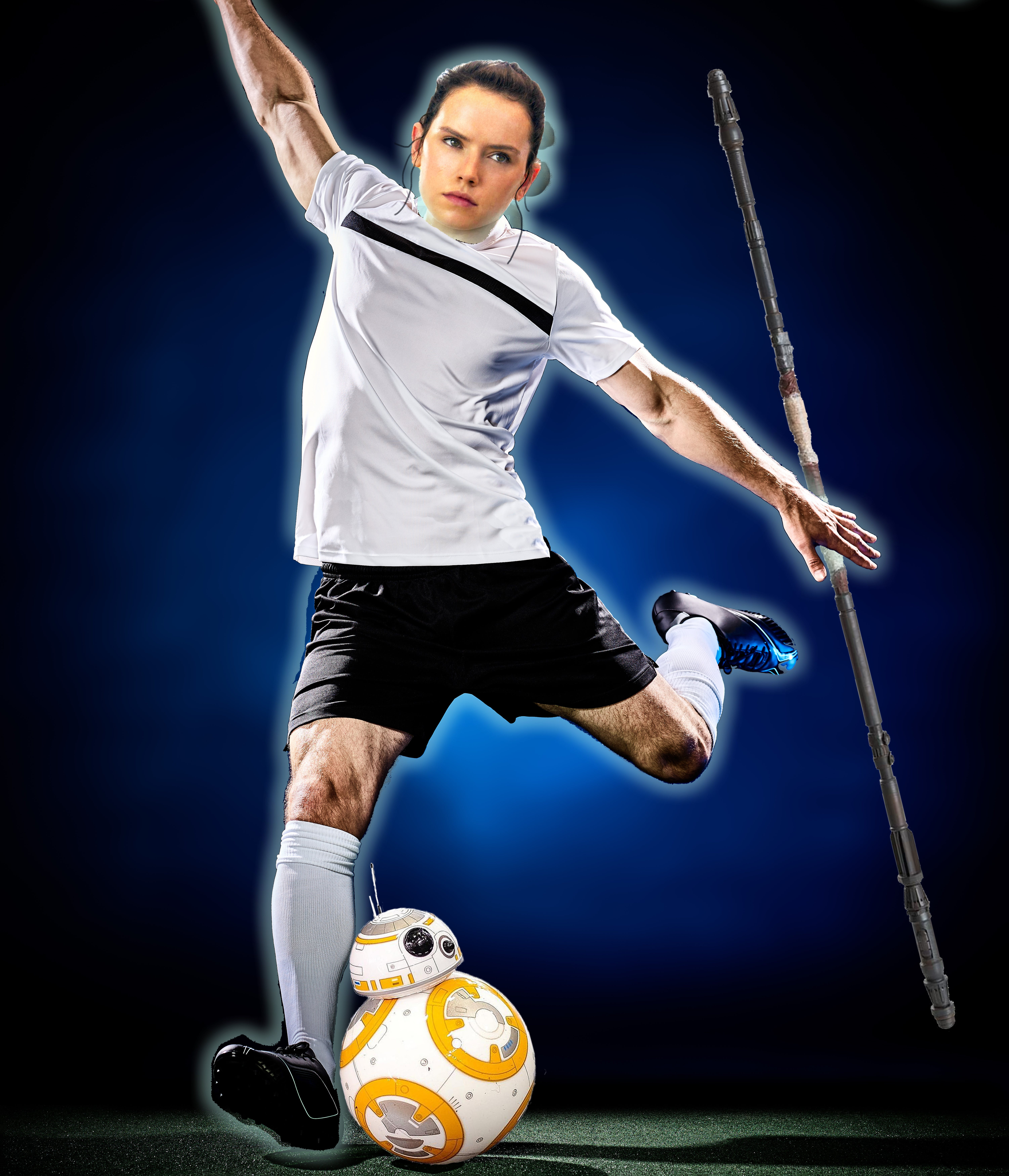 What would Rey be called as a footballer? Rey-naldo? Rey-mar?