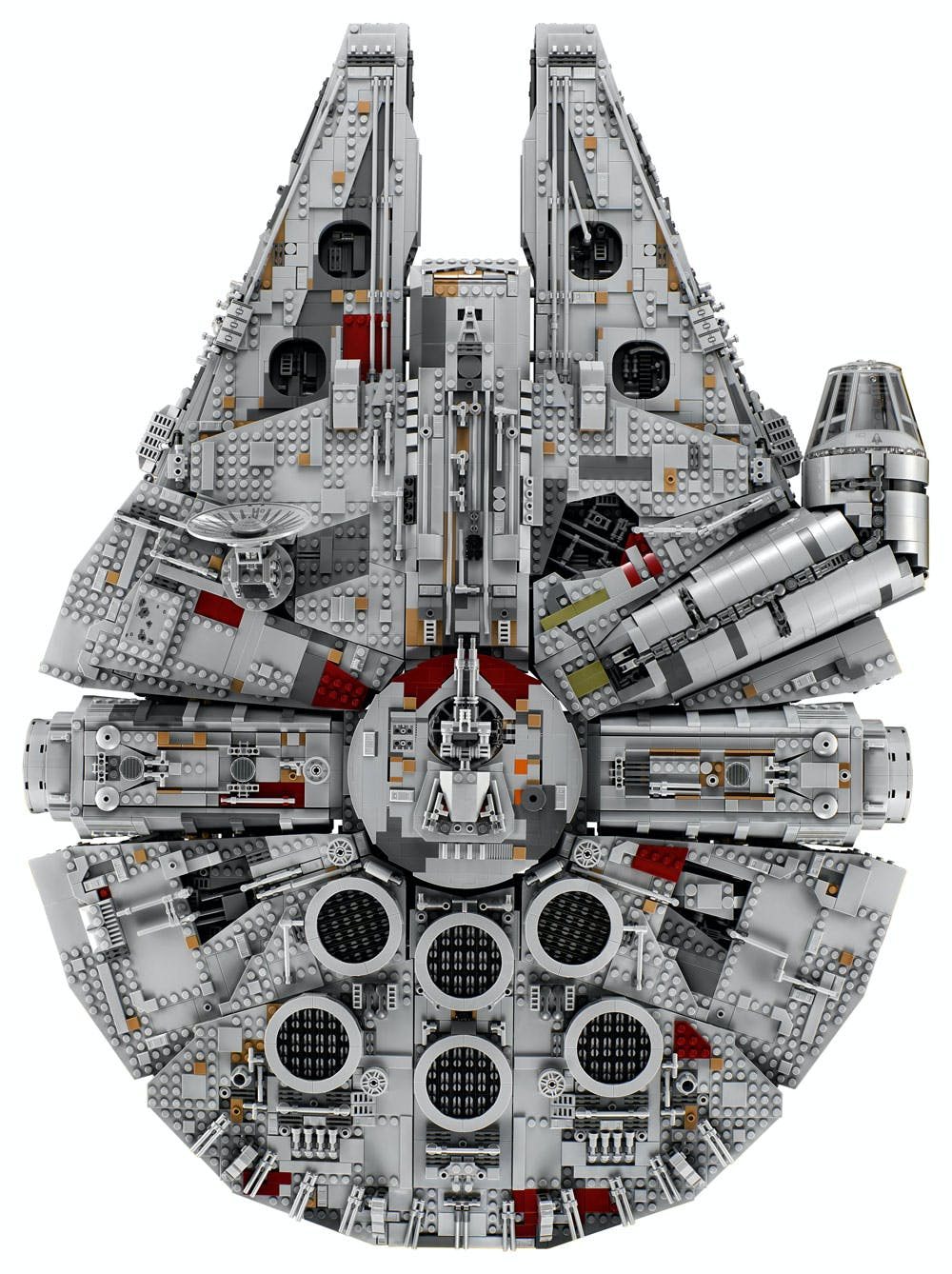 The LEGO Millennium Falcon