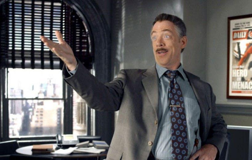 JK Simmons in Spider-Man