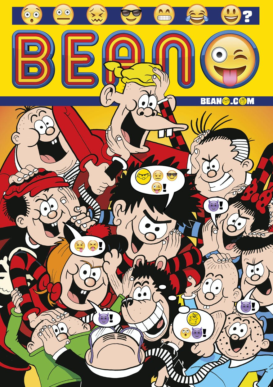 The Beano is going Emoji only!