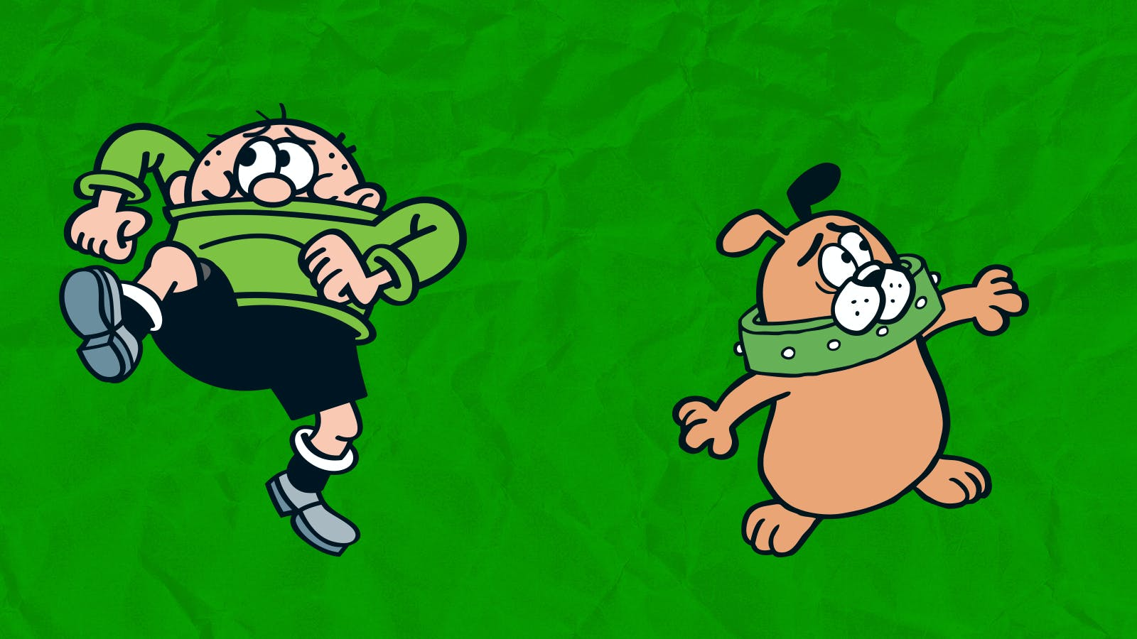 Bash Street Kids and Pups: Wilfrid v Manfred