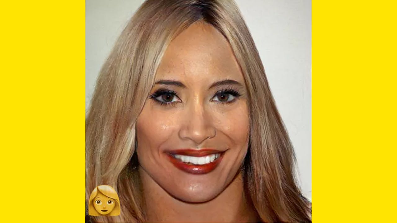 Guess the Faceswap woman on FaceApp