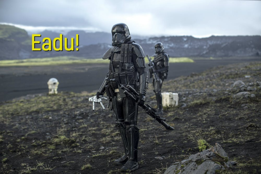 An image of the Star Wars planet Eadu