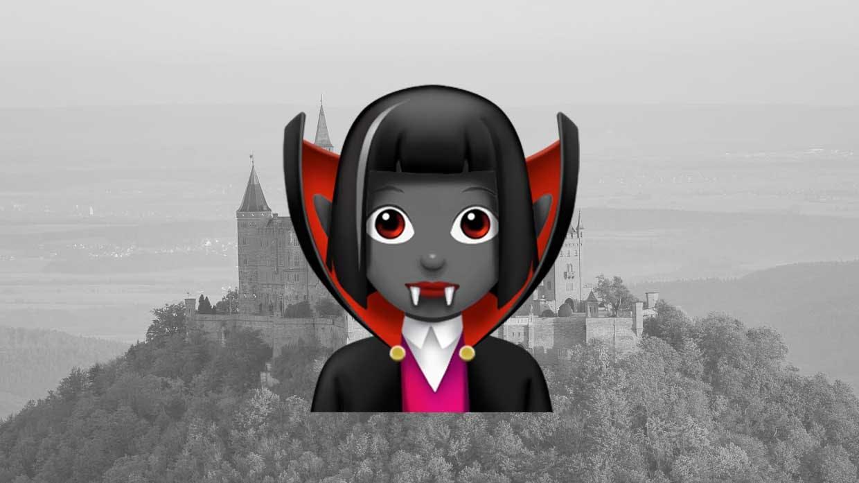 Vampire emoji