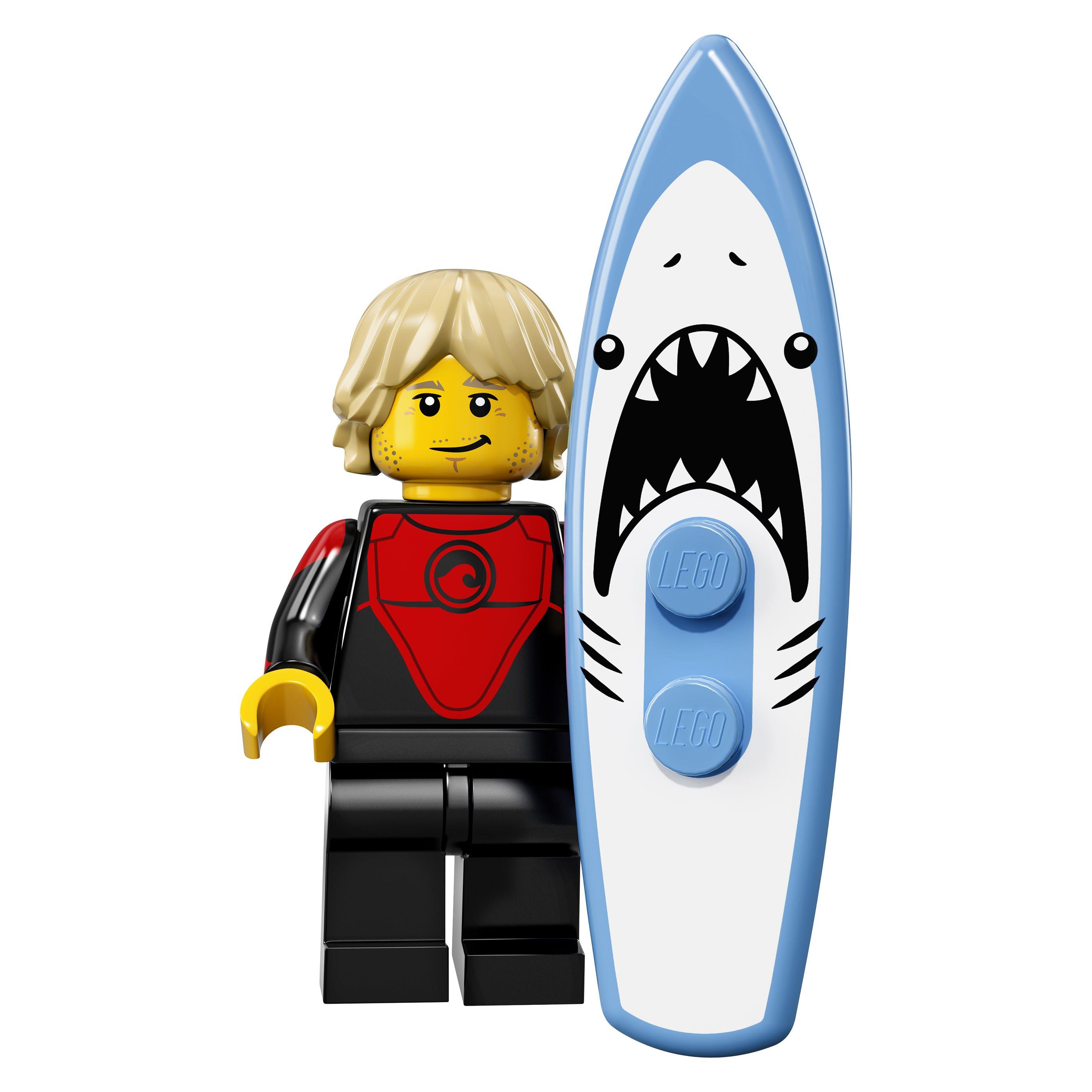 LEGO minifgs series 17 Pro Surfer