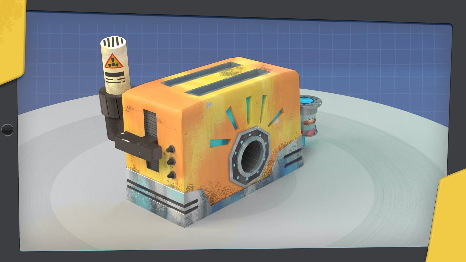 the atomic toaster