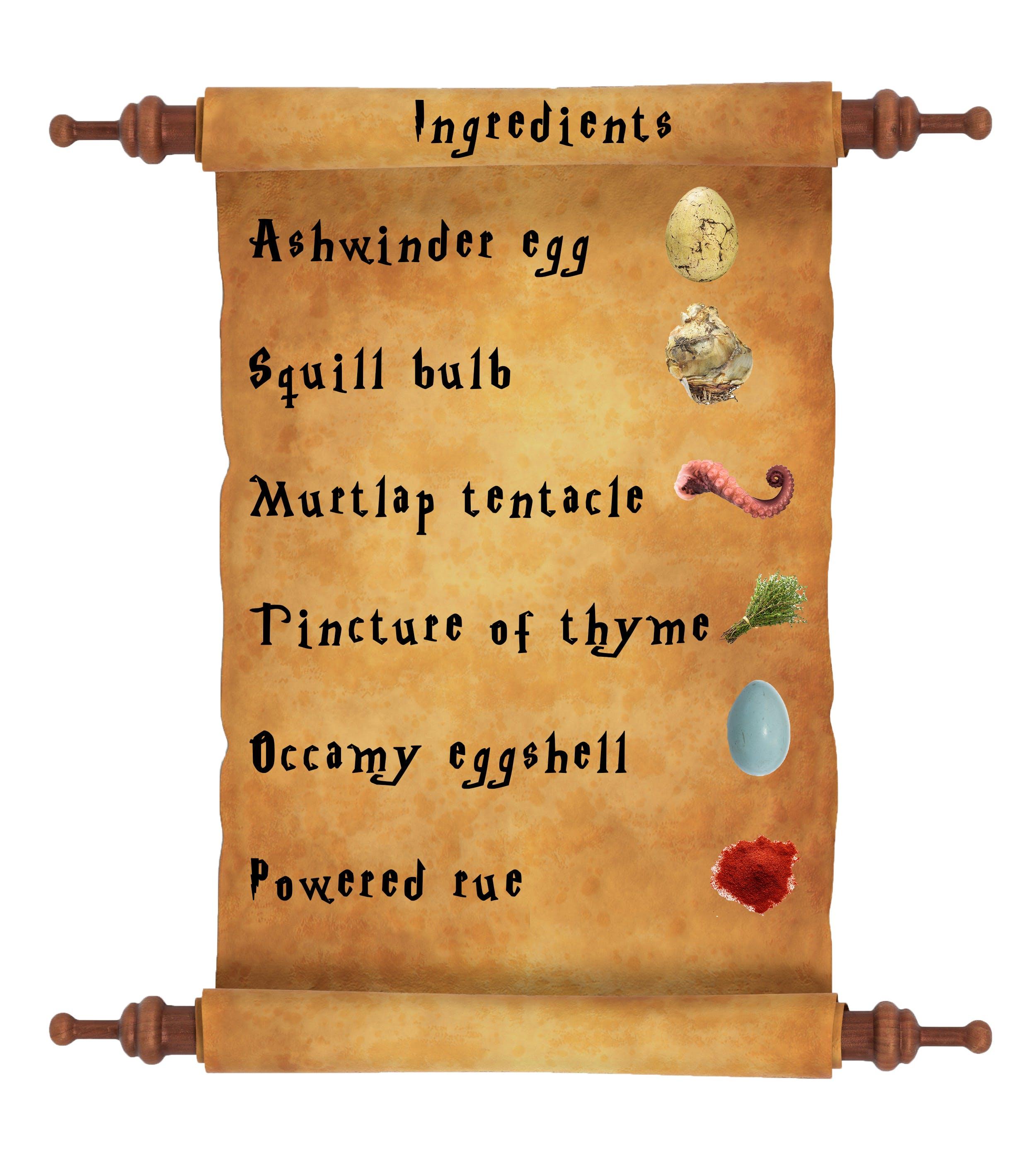 Harry Potter potion list - Felix Felicis ingredients