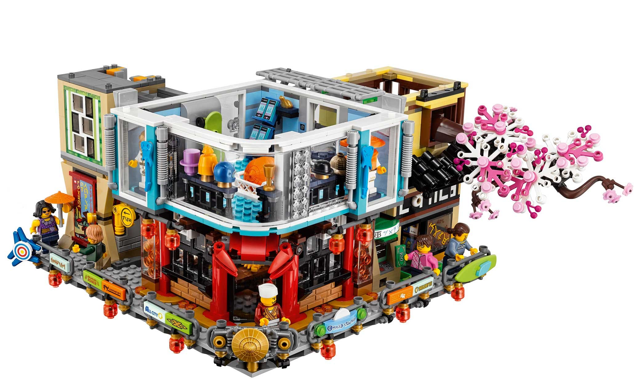 LEGO Ninjago Movie set