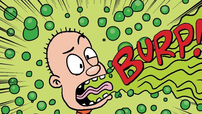 Edd and his mega-burp