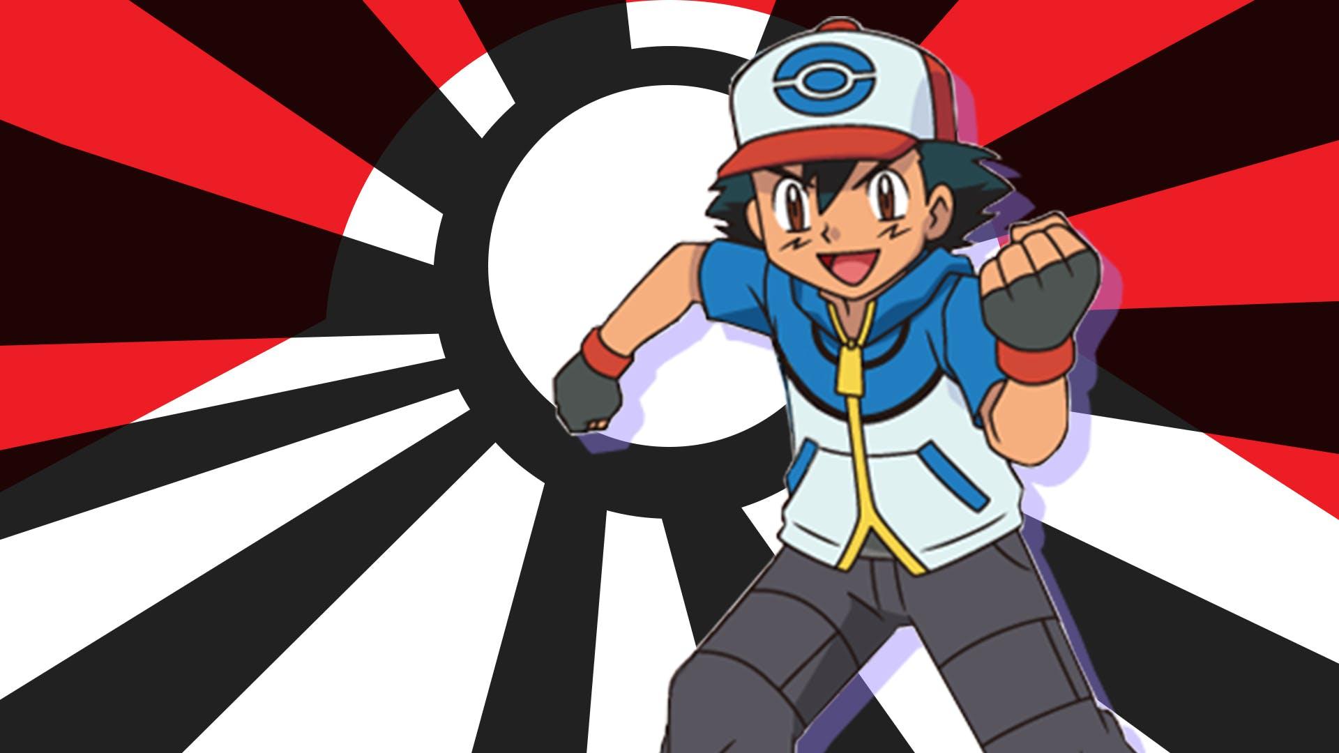 Ash from Pokémon