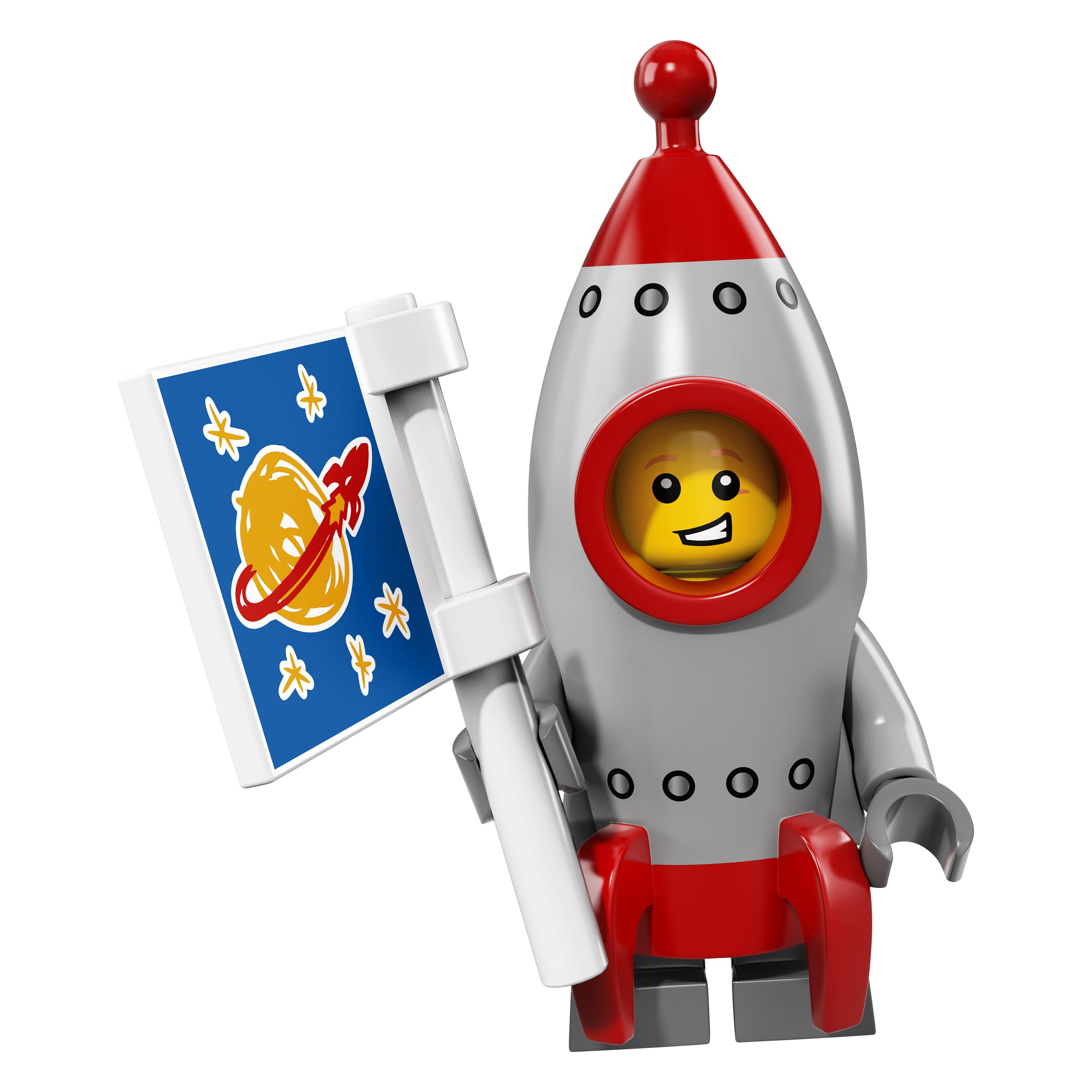 LEGO minifgs series 17 Rocket Boy
