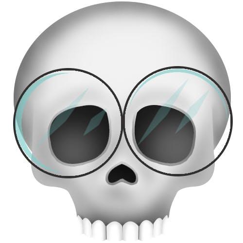 Skull Taylor emoji