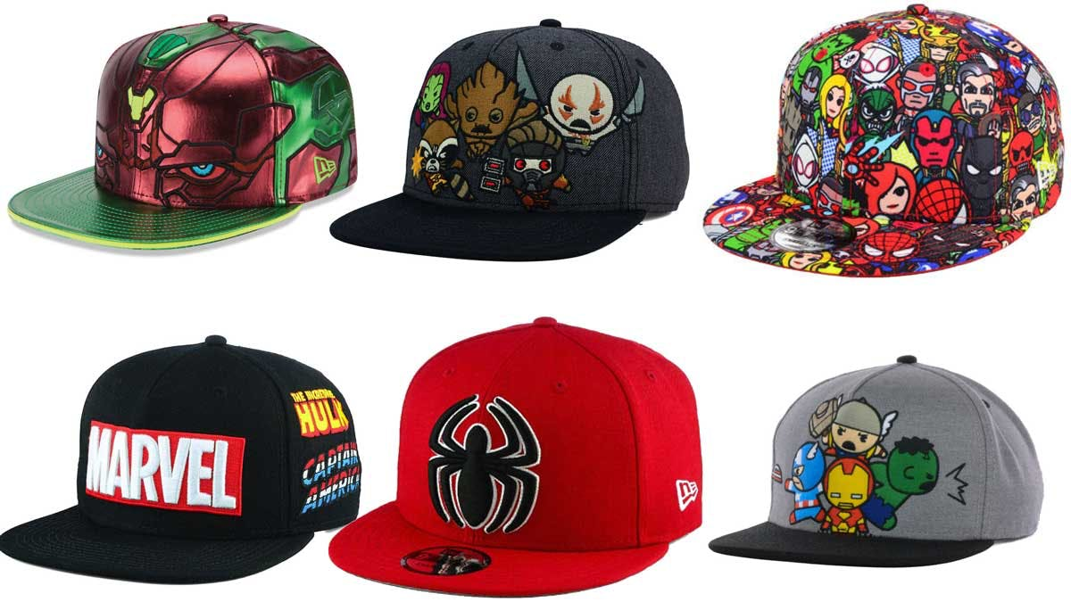 Marvel hats from Lids.com