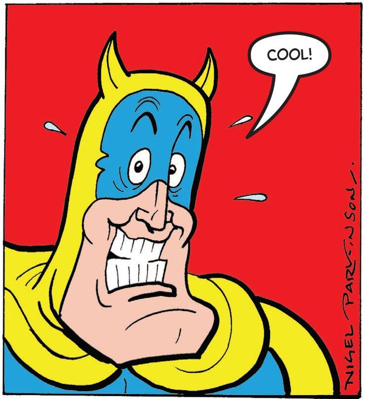 Bananaman approves