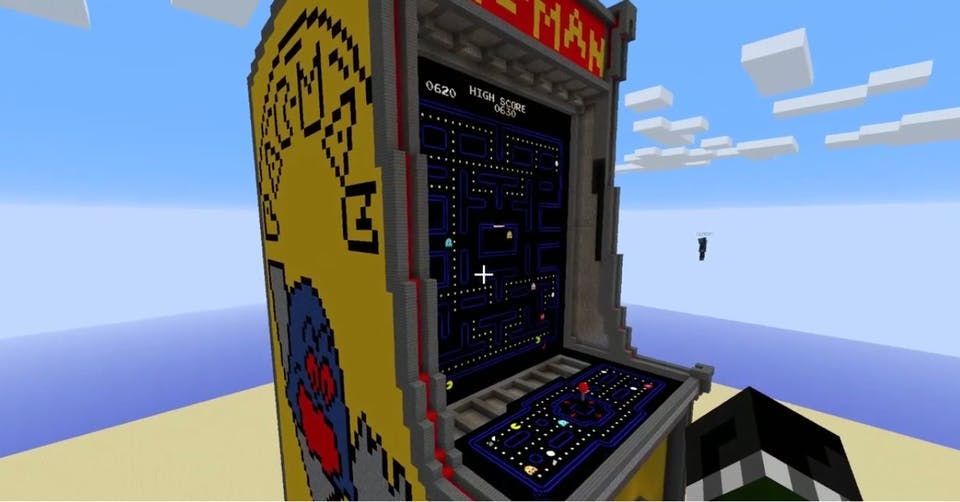 Playable PACMAN in Minecraft