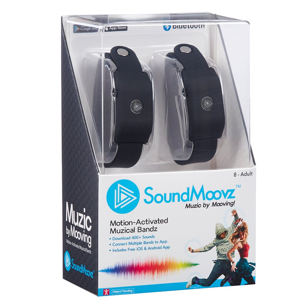 Soundmoovz come in packs of 2