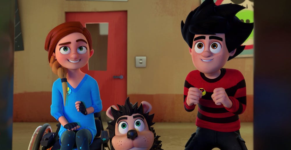 Rubi in Dennis & Gnasher Unleashed!