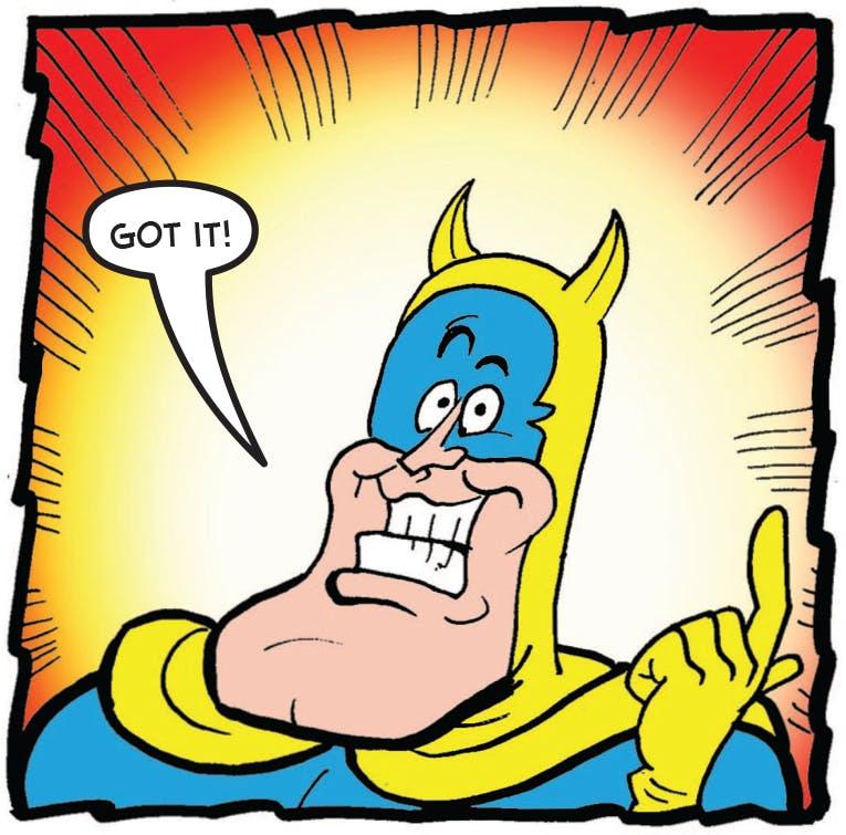 Bananaman's got it