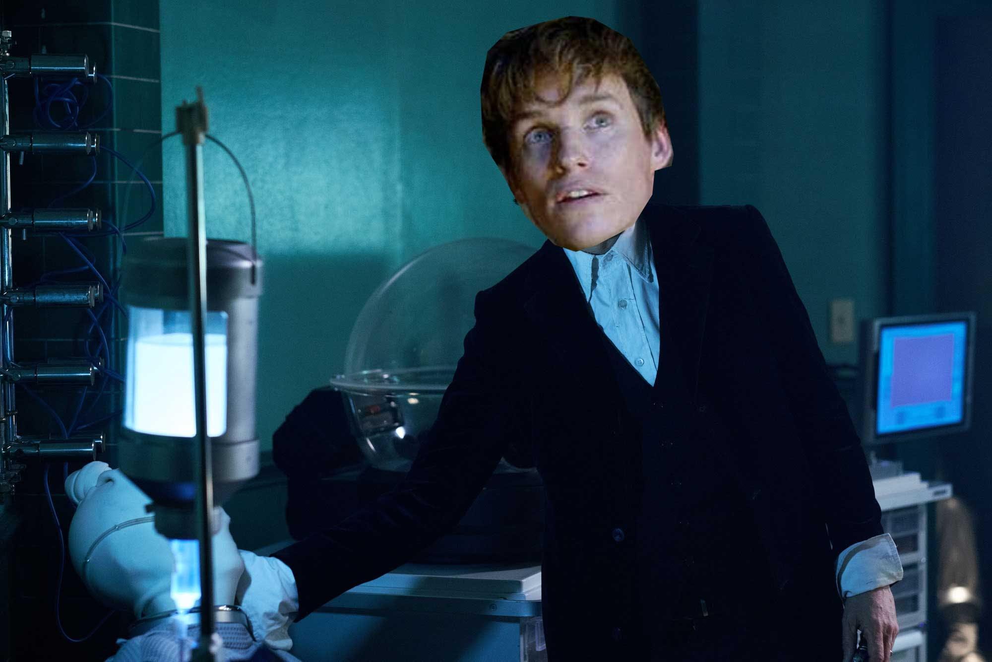 Eddie Redmayne in Doctor Who