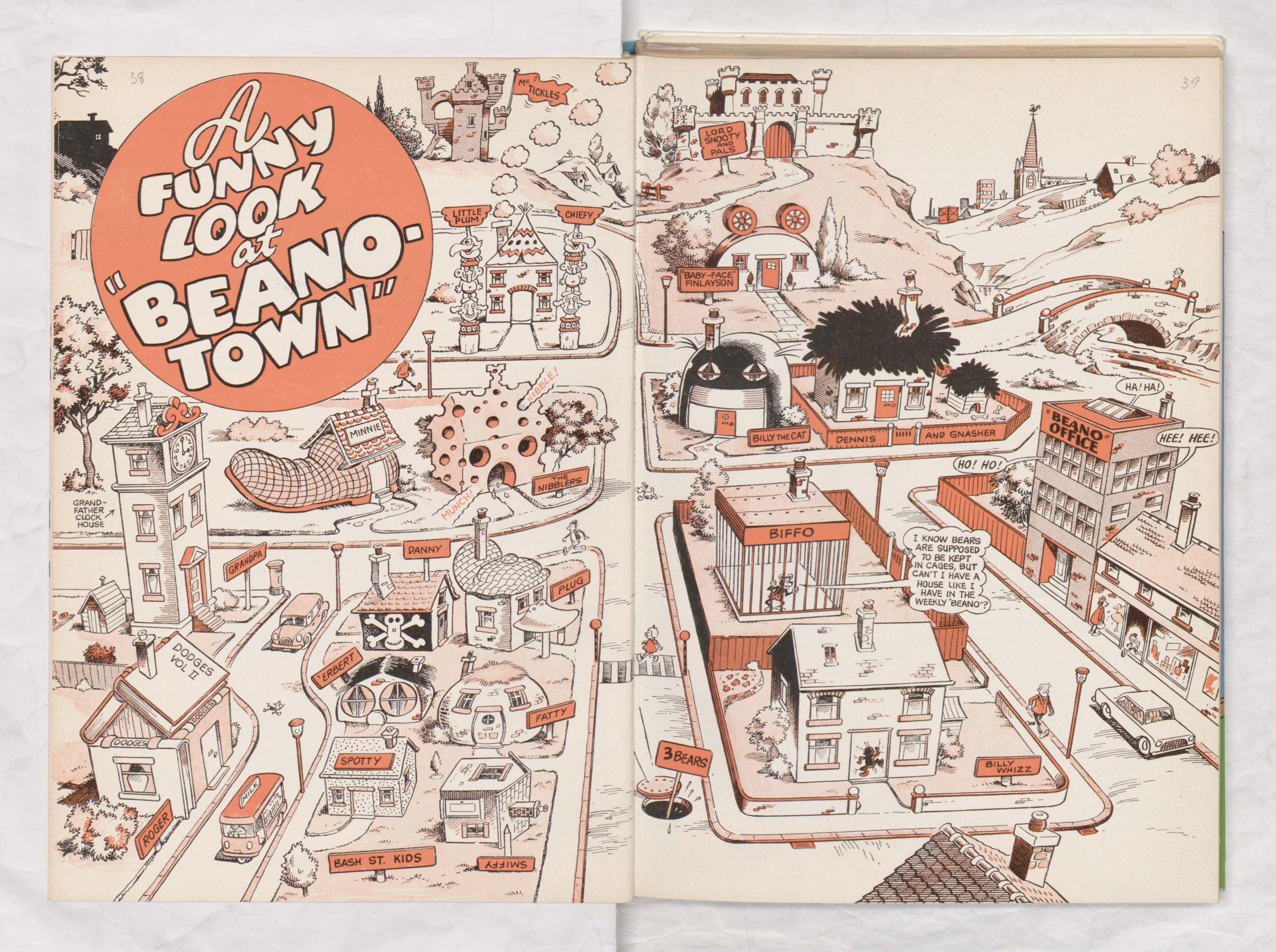 Beanotown - Beano Book 1974 Annual