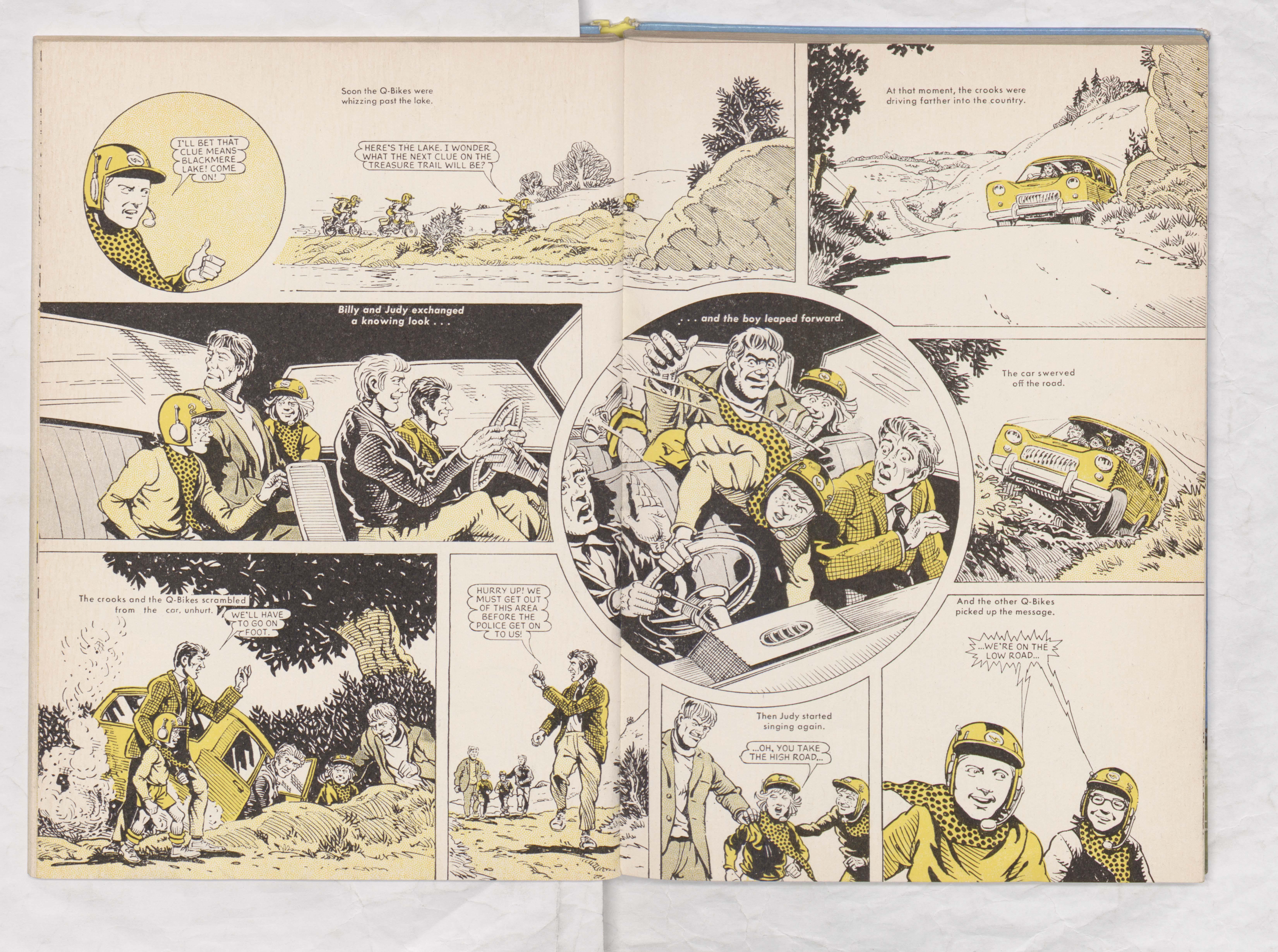 Beano Book 1970 - Q-Bikes - Page 6 + 7