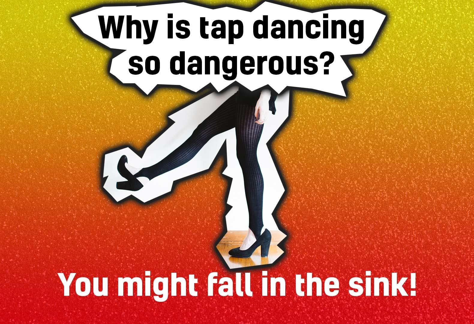 Tap dancing joke