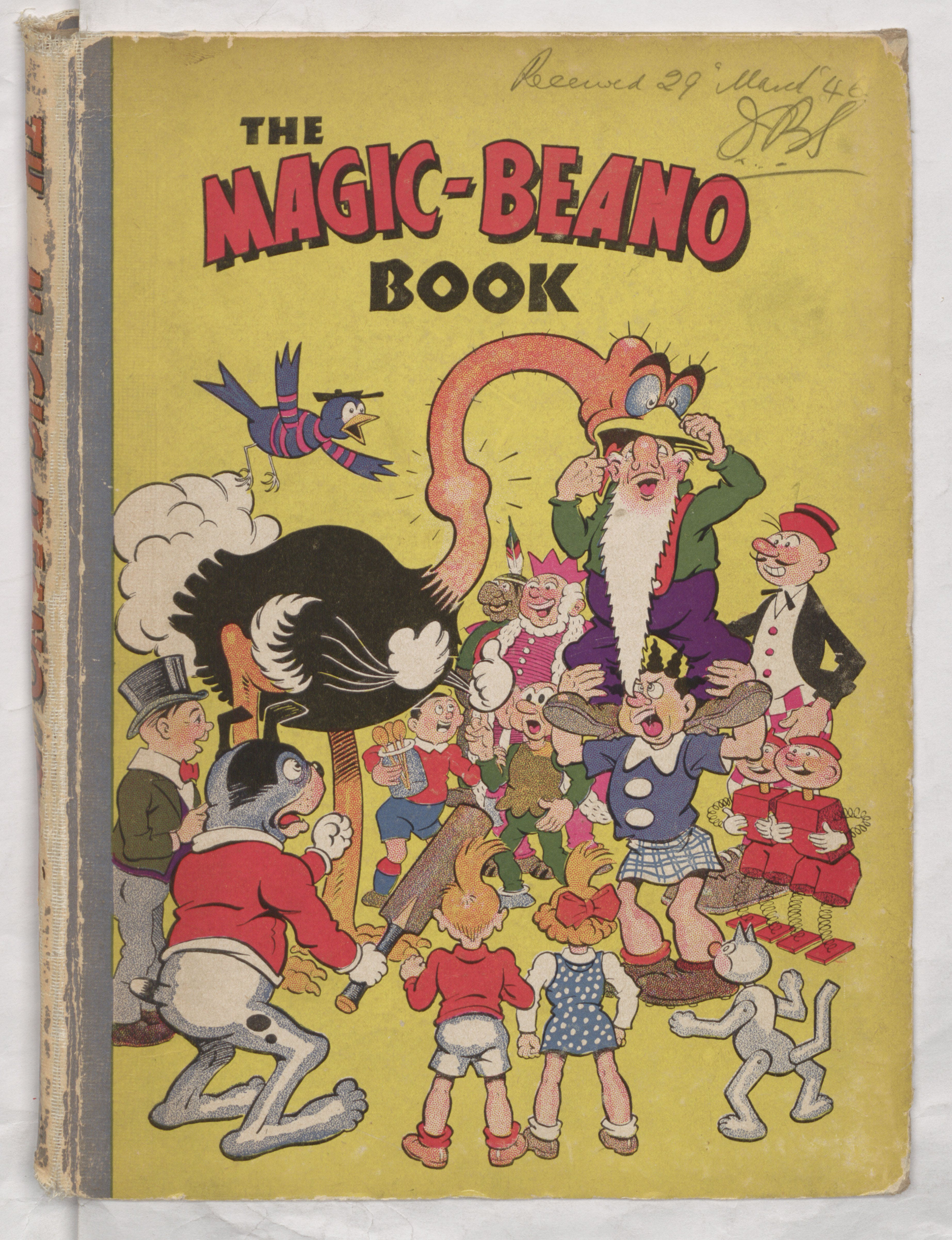 1947 Magic-Beano Book - Annual Cover