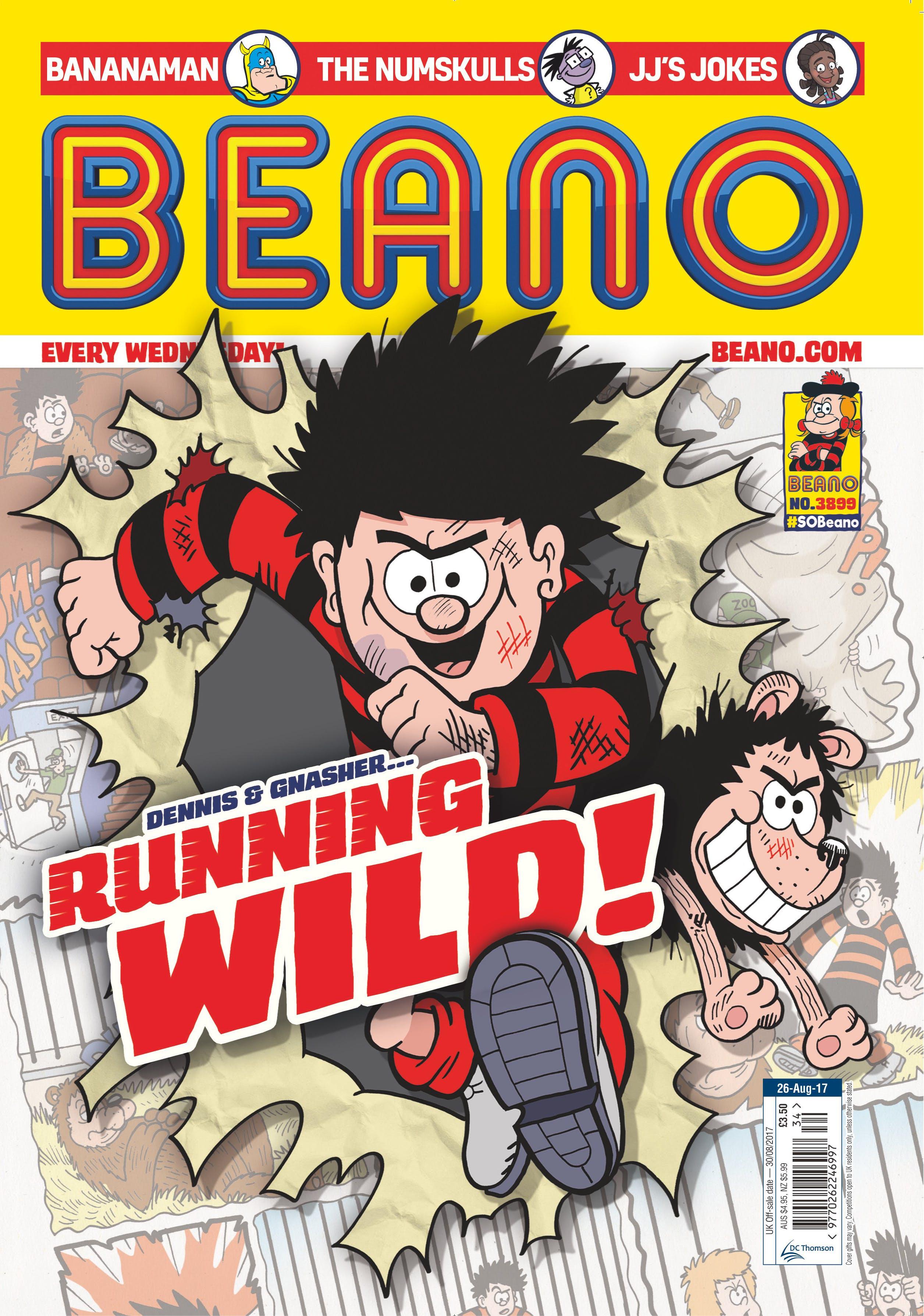 Beano cover 26.8.17