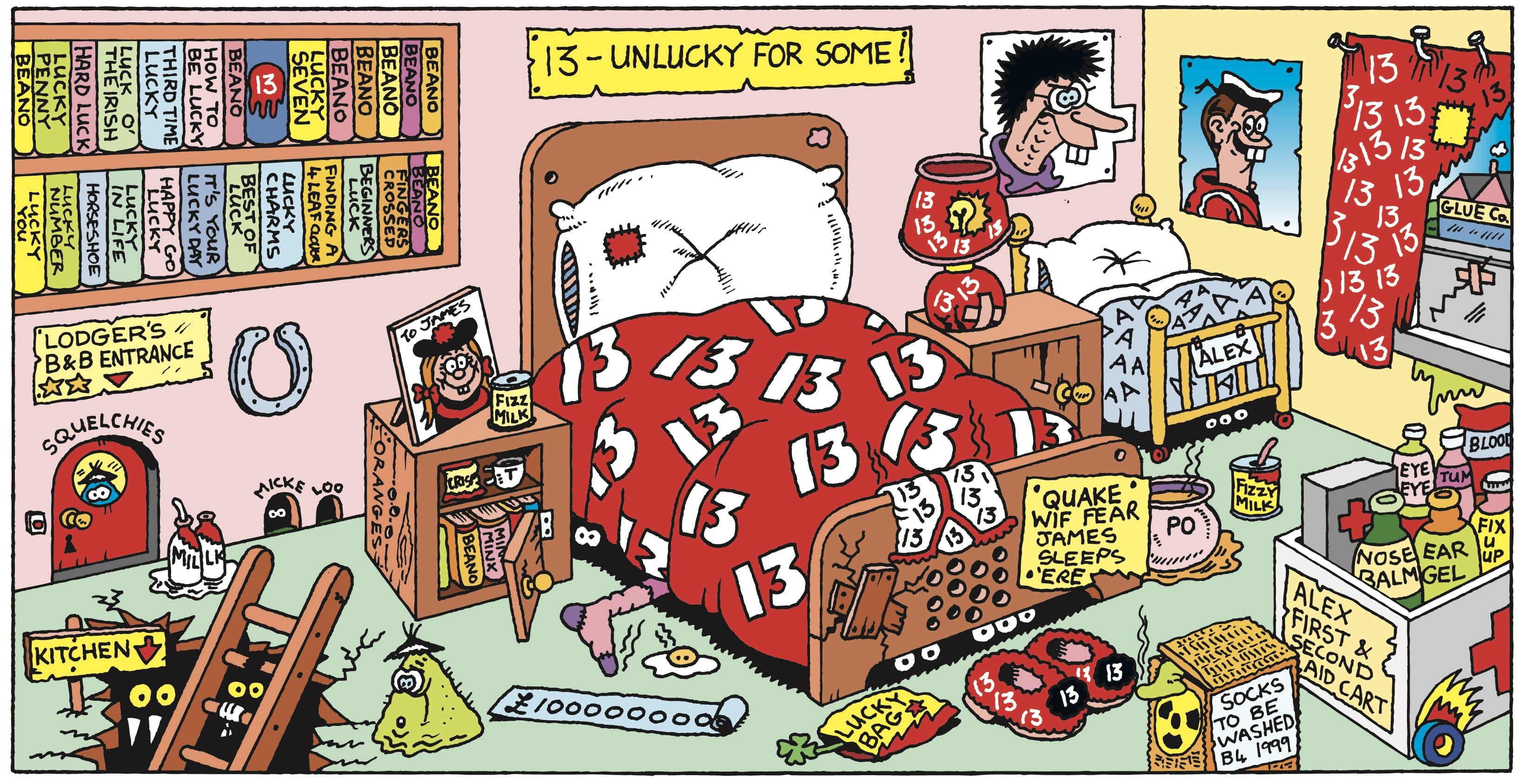the Unluckiest Bedroom in the World!