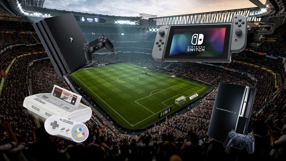 FIFA18 consoles