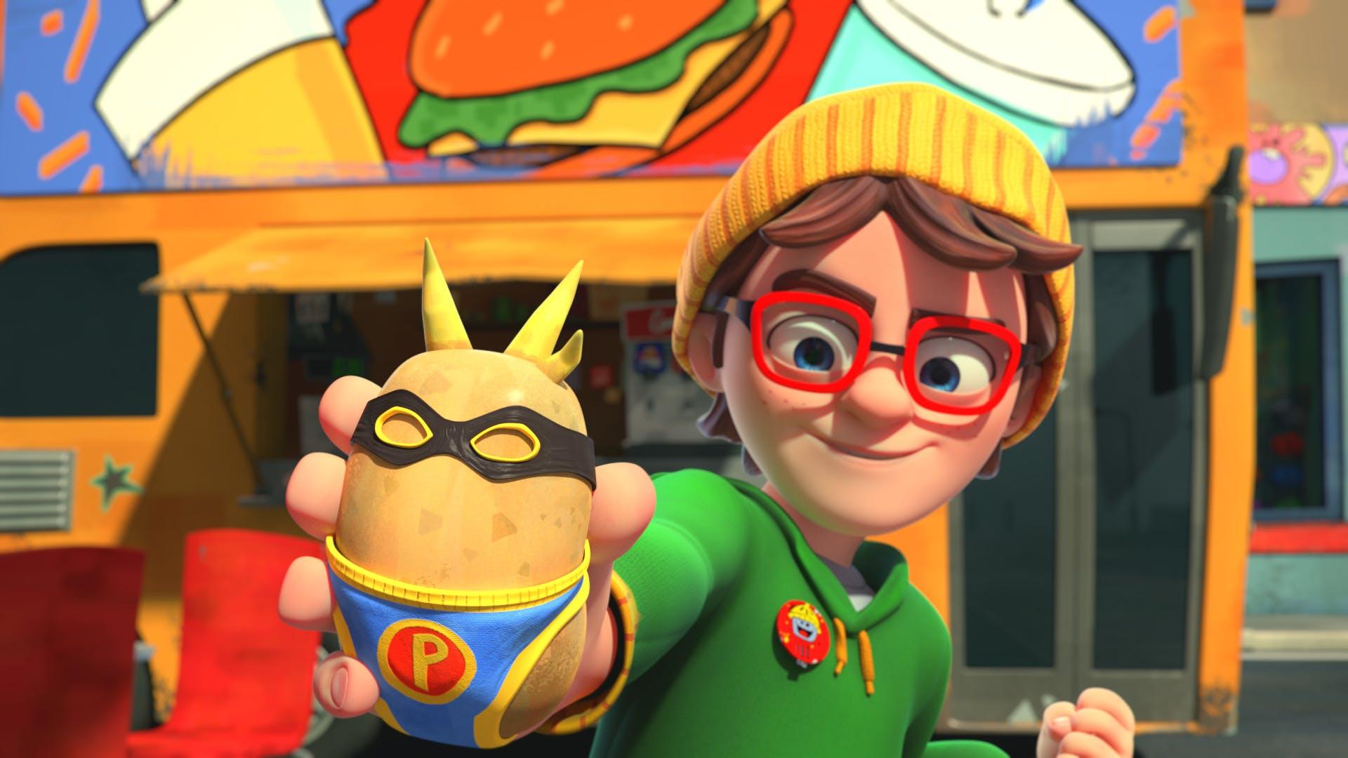 Super Paul the potato