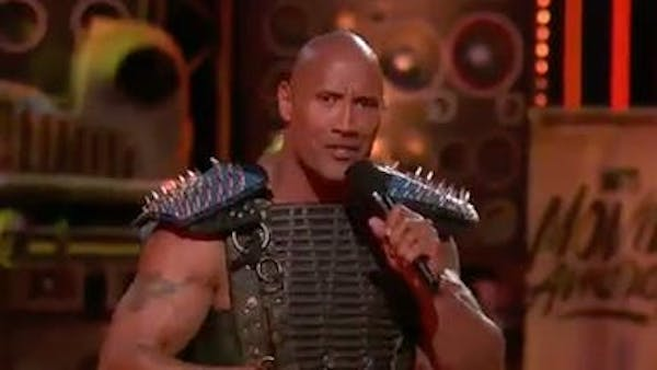 The Rock loves Hufflepuff house