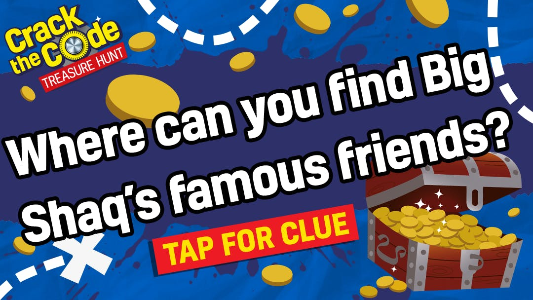 Where can you find Big Shaq's famous friends?