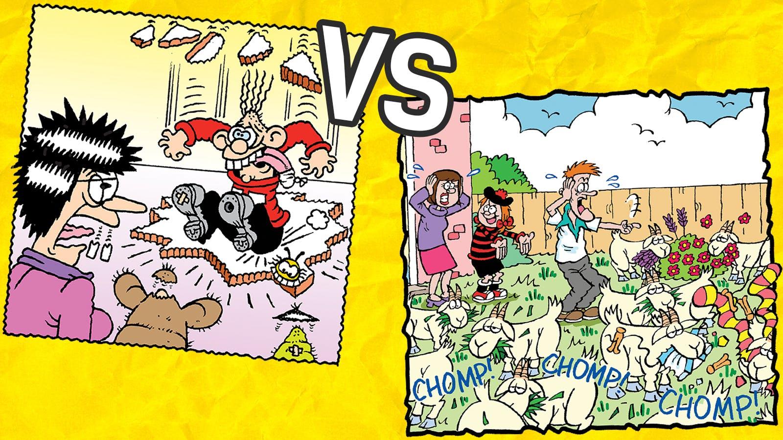 Minnie's Mum versus James's Mum