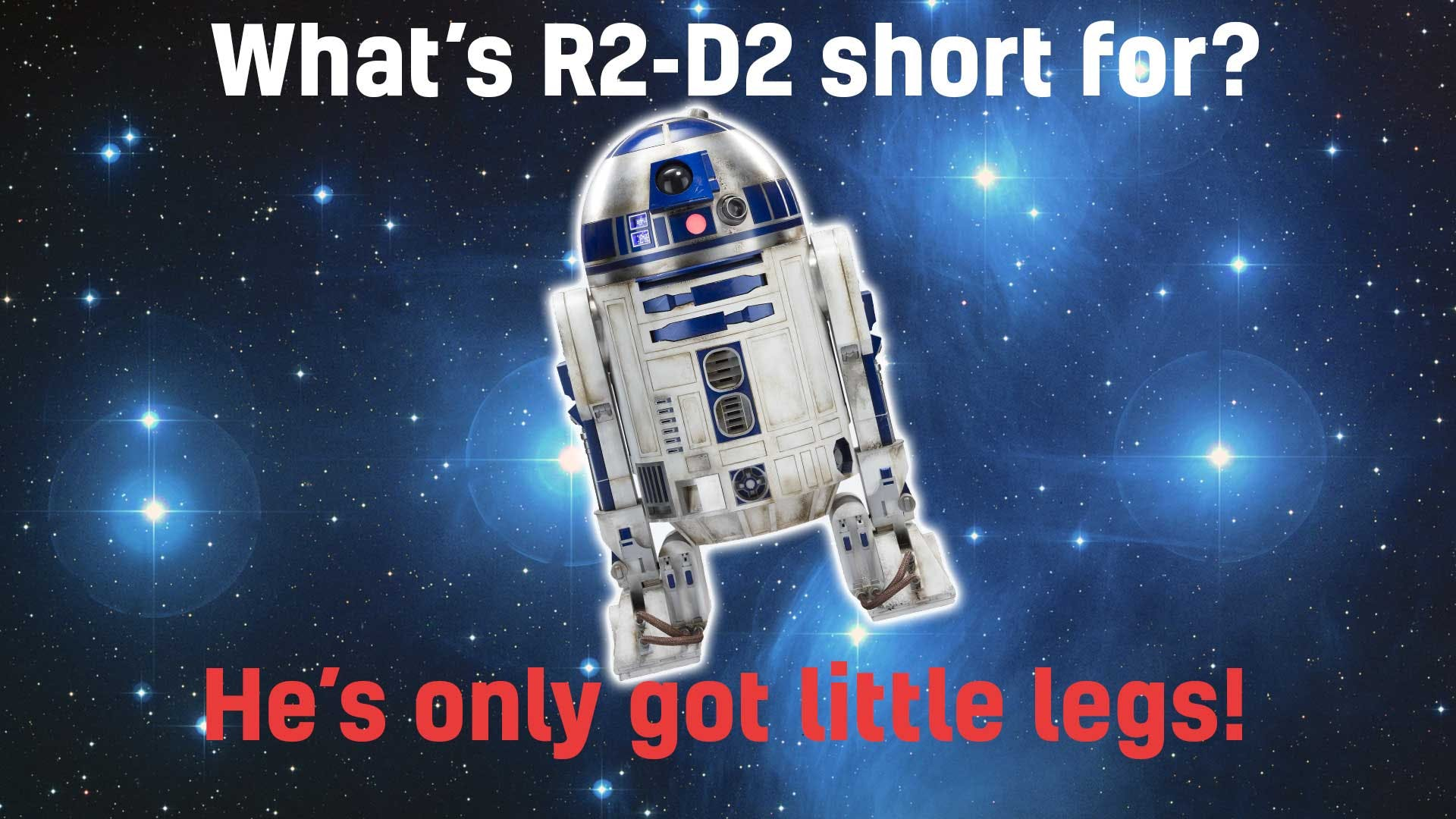What's R2-D2 short for?