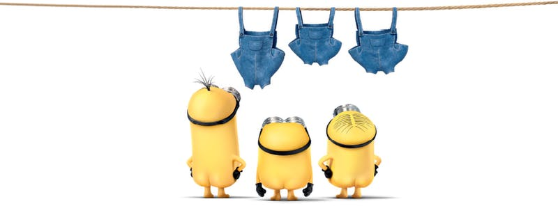 Minions naked