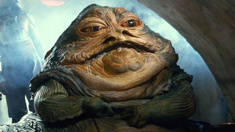 Jabba The Hutt in Return Of The Jedi