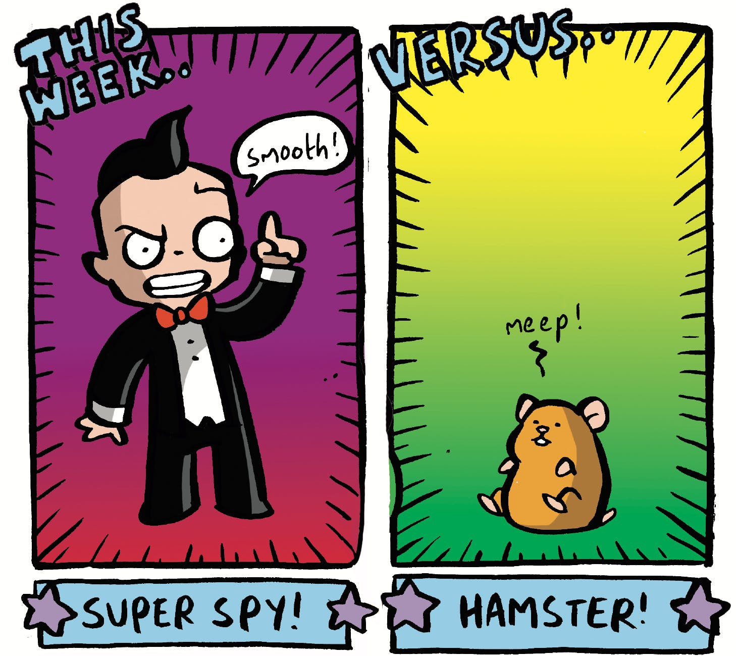 Arena of Awesome - Spy vs Hamster