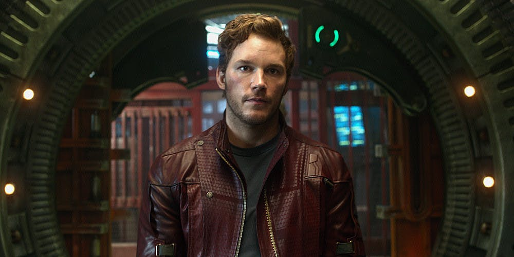 Peter Quill from Guardians Of The Galaxy