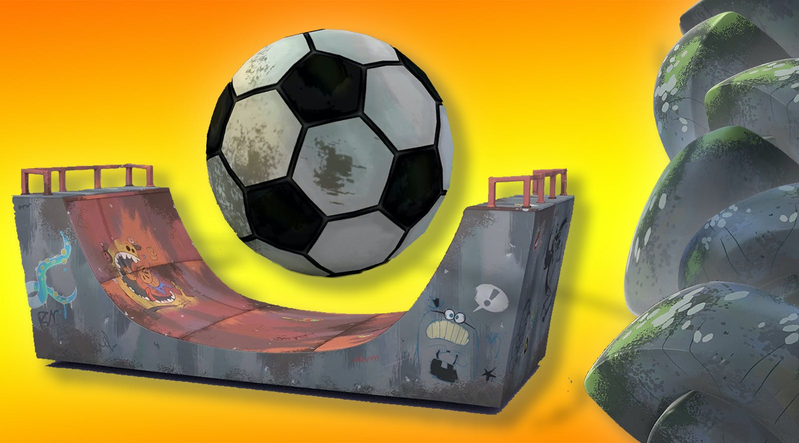 Choose: your football or your board!
