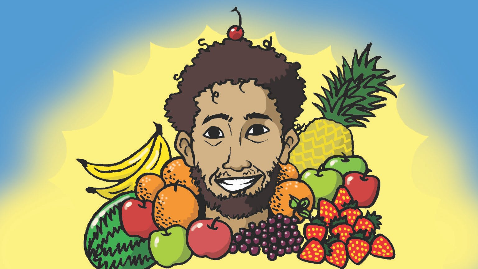 What's healthy and scores a lot of goals? - Mohamed Fruit Salah