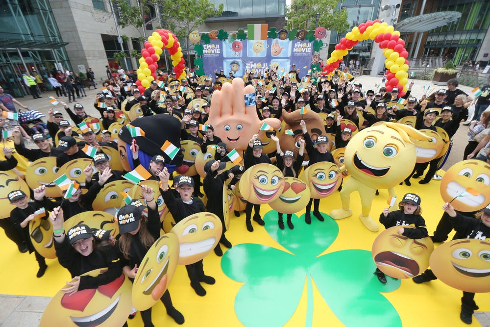 Guinness World Record international emoji gathering