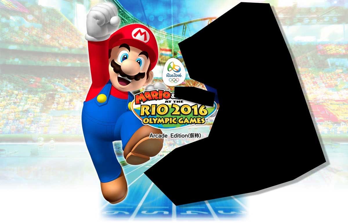 Mario and SOMEONE at the Olympics